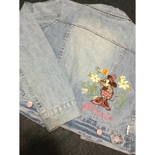 ディズニー(Disney)のディズニー 刺繍(Gジャン/デニムジャケット)