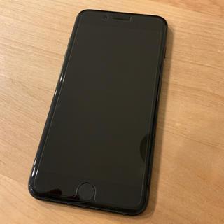 Apple - 赤ロム iPhone7 plus 256GB ジェットブラック