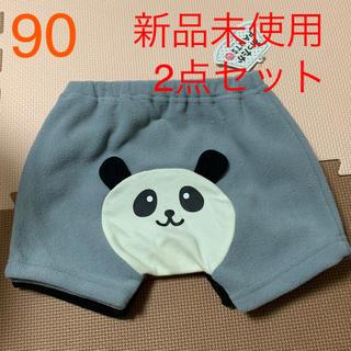 シマムラ(しまむら)のパンダとクマのもこもこパンツセット(パンツ/スパッツ)