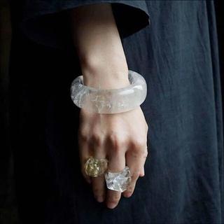 ヤエカ(YAECA)の新品 yasuhide ono ヒマラヤ 水晶 ポイント リング 原石(リング(指輪))