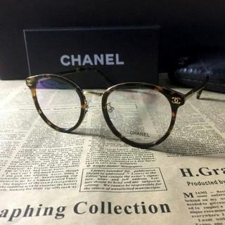 CHANEL - CHANLEシャネルのメガネフレームです。クリアピンク