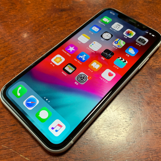 iPhone - iPhone XR SIMフリー化 ホワイト64
