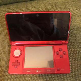 ニンテンドー3DS(ニンテンドー3DS)のニンテンドー3DS メタリックレッド(携帯用ゲーム本体)