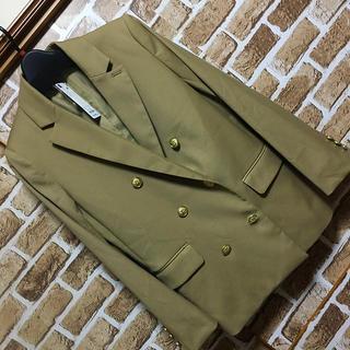 ジーユー(GU)のGU ダブルブレストジャケット 新品タグ付き(テーラードジャケット)