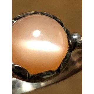 ヴィンテージ品♡オレンジムーンストーン リング   (リング(指輪))