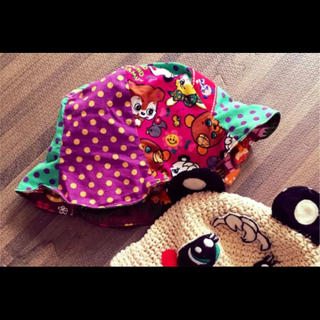 グラグラ(GrandGround)のグラグラ 総柄 ハット 帽子(帽子)