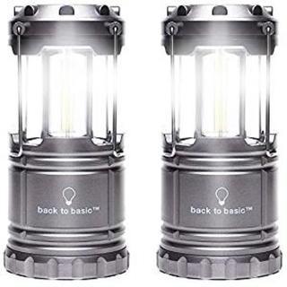 超人気!アウトドア LED ランタン 電池式 2個セット(ライト/ランタン)