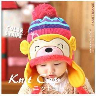 子供の帽子 冬の赤ちゃん耳たぶの帽子 かわいい(帽子)