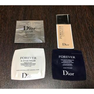 ディオール(Dior)のDior 試供品ファンデーションセット(サンプル/トライアルキット)
