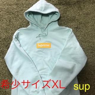 シュプリーム(Supreme)のsupreme  box logo pullover 2017 (パーカー)