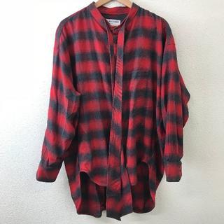 バレンシアガ(Balenciaga)の新品同様 BALENCIAGA バレンシアガ メンズ バンドカラーシャツ 42(シャツ)