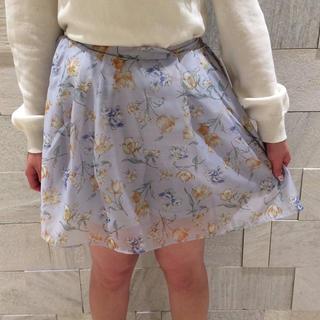 ダズリン(dazzlin)の【dazzlin】シアーミニスカート♡新品タグ付き【中はキュロット】(ミニスカート)