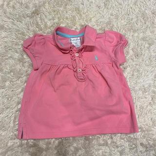 ラルフローレン(Ralph Lauren)のラルフローレン ピンク ポロシャツ(Tシャツ)