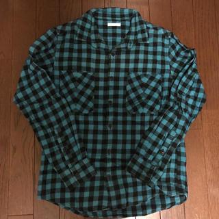 ジーユー(GU)のGU ネルチェックシャツ(シャツ)