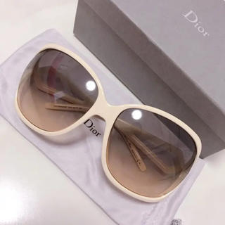 Christian Dior - Dior ディオール サングラス ホワイト ビックフレーム グラサン セレブ