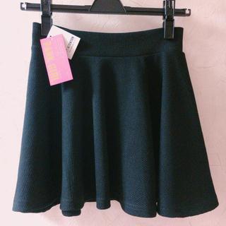 新品♡黒のミニスカート(ミニスカート)