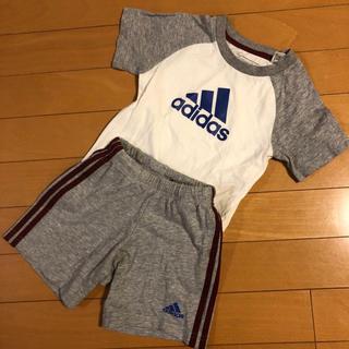 アディダス(adidas)のアディダス adidas 上下セット 92(Tシャツ/カットソー)