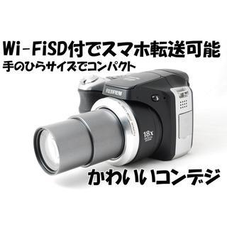 ♡スマホ転送&超望遠&超軽量&コンパクト♡ファインピクスS8000fd♡(コンパクトデジタルカメラ)