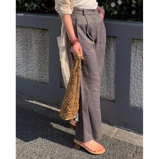 TODAYFUL - TODAYFUL 新作 完売 Linen Trousers 38 新品 リネン