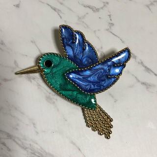 ヴァンクリーフアンドアーペル(Van Cleef & Arpels)の鳥 モチーフ ブローチ(ブローチ/コサージュ)