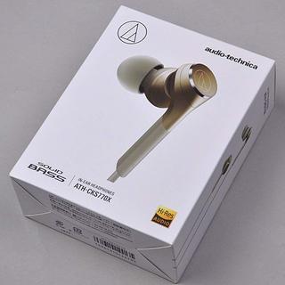 オーディオテクニカ(audio-technica)の新品 オーディオテクニカ イヤホン ATH-CKS770X(ヘッドフォン/イヤフォン)