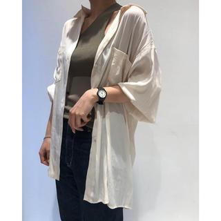 TODAYFUL 新作 完売 Satin Jacquard Shirts シャツ