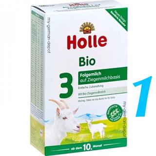 1箱 /Holleホレ やぎステップ3「生後10〜36ヶ月」オーガニック粉ミルク(その他)