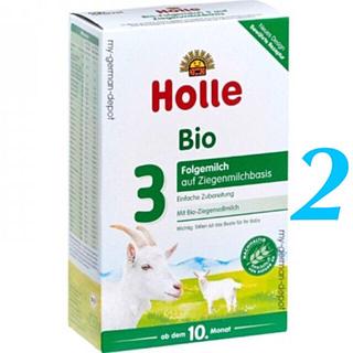 2箱 /Holleホレ やぎステップ3「生後10〜36ヶ月」オーガニック粉ミルク(その他)