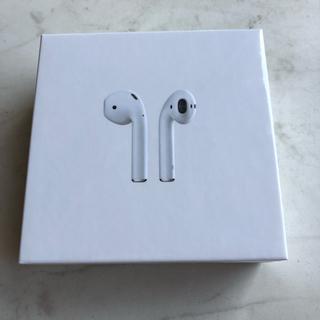 アップル(Apple)の【即日発送】Airpods(第2世代) 新品未開封品(ヘッドフォン/イヤフォン)