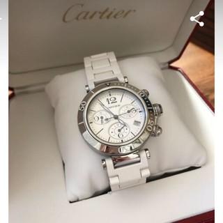 Cartier - カルティエパシャシータイマクロノグラフ確認用3月27日限定即決の方160000円
