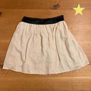 エージーバイアクアガール(AG by aquagirl)のAG ミニドット フレアスカート(ミニスカート)