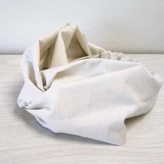 58cm〜クロスターバン グレーホワイト(ヘアバンド)