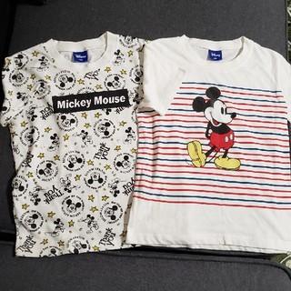 Disney - 【130cm】ミッキー 他 Tシャツ セット
