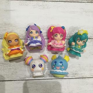 スター ☆トゥインクルプリキュアのすくい人形6個セットです!(キャラクターグッズ)