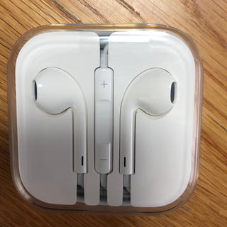 アイフォーン(iPhone)のiPhone付属イヤフォン(ヘッドフォン/イヤフォン)