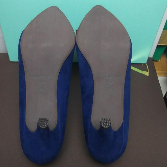 ORiental TRaffic(オリエンタルトラフィック)の【新品未使用】WA!KARUポインテッドトゥスエードパンプス レディースの靴/シューズ(ハイヒール/パンプス)の商品写真
