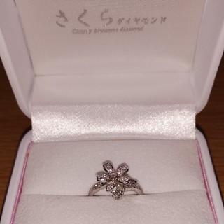 さくらダイヤモンドリング(リング(指輪))