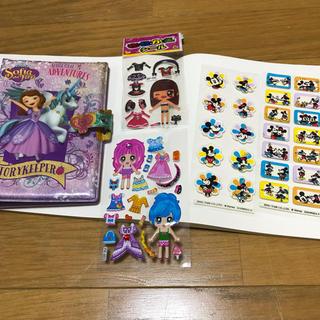 ディズニー(Disney)のソフィシールブック+シール4枚+おまけ(シール)