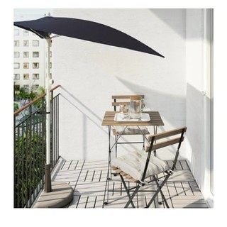 イケア(IKEA)の【美品】IKEA ガーデンテーブル 木目 ナチュラル ウッド(ダイニングテーブル)