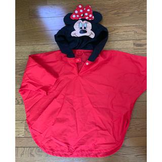 ディズニー(Disney)のミニーマウス☆レインポンチョ ディズニー(レインコート)