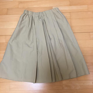 MELROSE - MELROSE Liesse メルローズ リエス 膝丈スカート フレアスカート