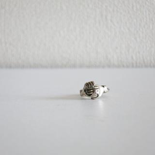 バーニーズニューヨーク(BARNEYS NEW YORK)のVintage Gimel Ring ギメルリング US4.5(リング(指輪))