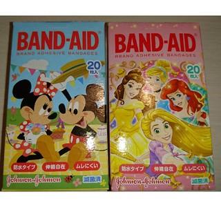 Disney - 【Disney】BAND-AID ミッキー&ミニー/ディズニープリンセス