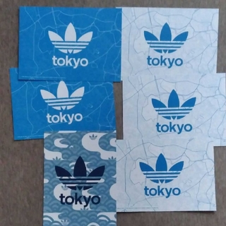 アディダス(adidas)のアディダス ポストカード6枚セット ステッカー(その他)