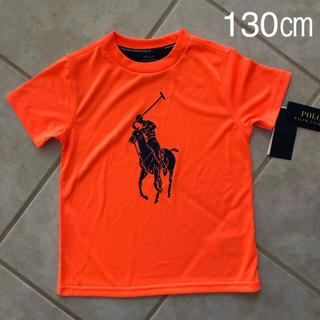 Ralph Lauren - スポーツ Tシャツ 蛍光 オレンジ パフォーマンス