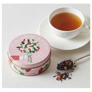 アフタヌーンティー(AfternoonTea)のアフタヌーンティー Afternoon Tea 紅茶 ストロベリーローズ 缶(茶)