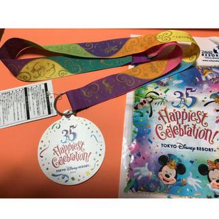 ディズニー(Disney)のハピエストサプライズ 35周年記念メダル ディズニー(ノベルティグッズ)