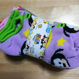 ディズニー(Disney)のディズニー ツムツム 子供用靴下セット 14~18cm (靴下/タイツ)