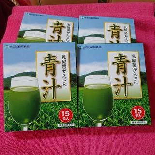世田谷自然食品 乳酸菌入り青汁15本入り6箱分(青汁/ケール加工食品 )