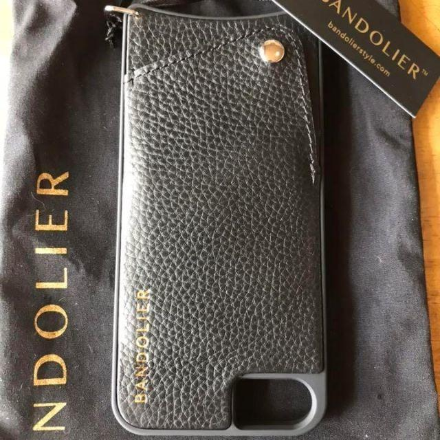 iphone7 ケース 持ちやすい | 新品✨ BANDOLIER バンドリヤー スマホケース ルーシー シルバーの通販 by てっちゃん(´∀`)|ラクマ